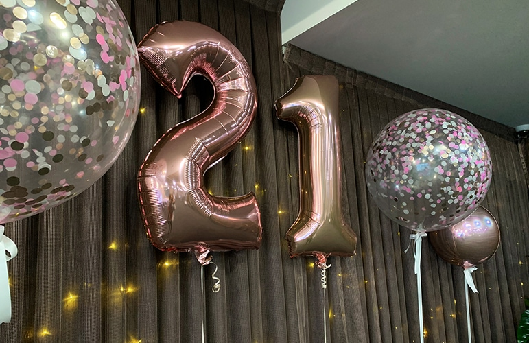 where to have 21st birthday in adelaide